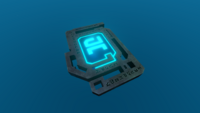 Blue Tablet In-game
