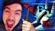 KILLING A REAPER LEVIATHAN WITH A KNIFE! Subnautica - Part 28 (Full Release)