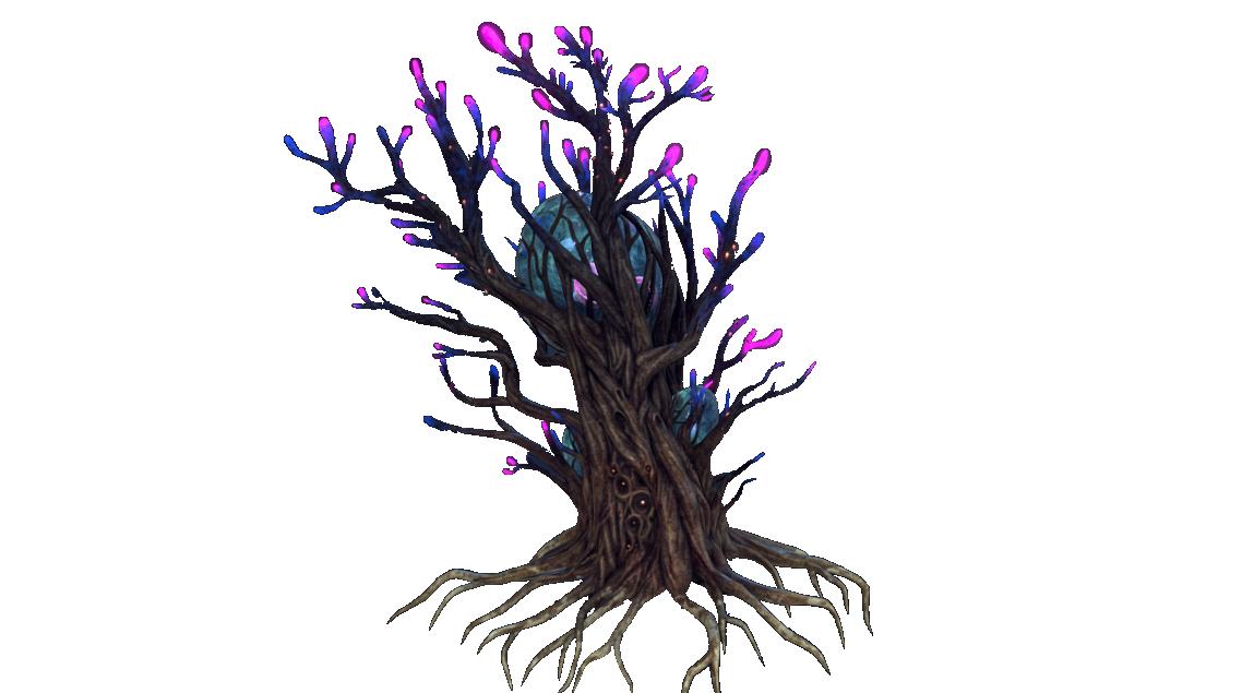 Гигантское дерево-укрытие