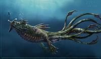 Concept-Art Sea Dragon Leviathan