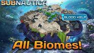 ALL BIOMES in Subnautica 1
