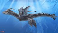 Ice Dragon Concept