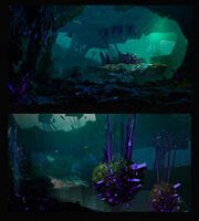 Crystal Caves Concept 2