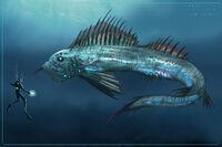 Large Deep Sea Creatures 05A