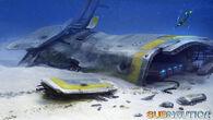 Crashed Starship2