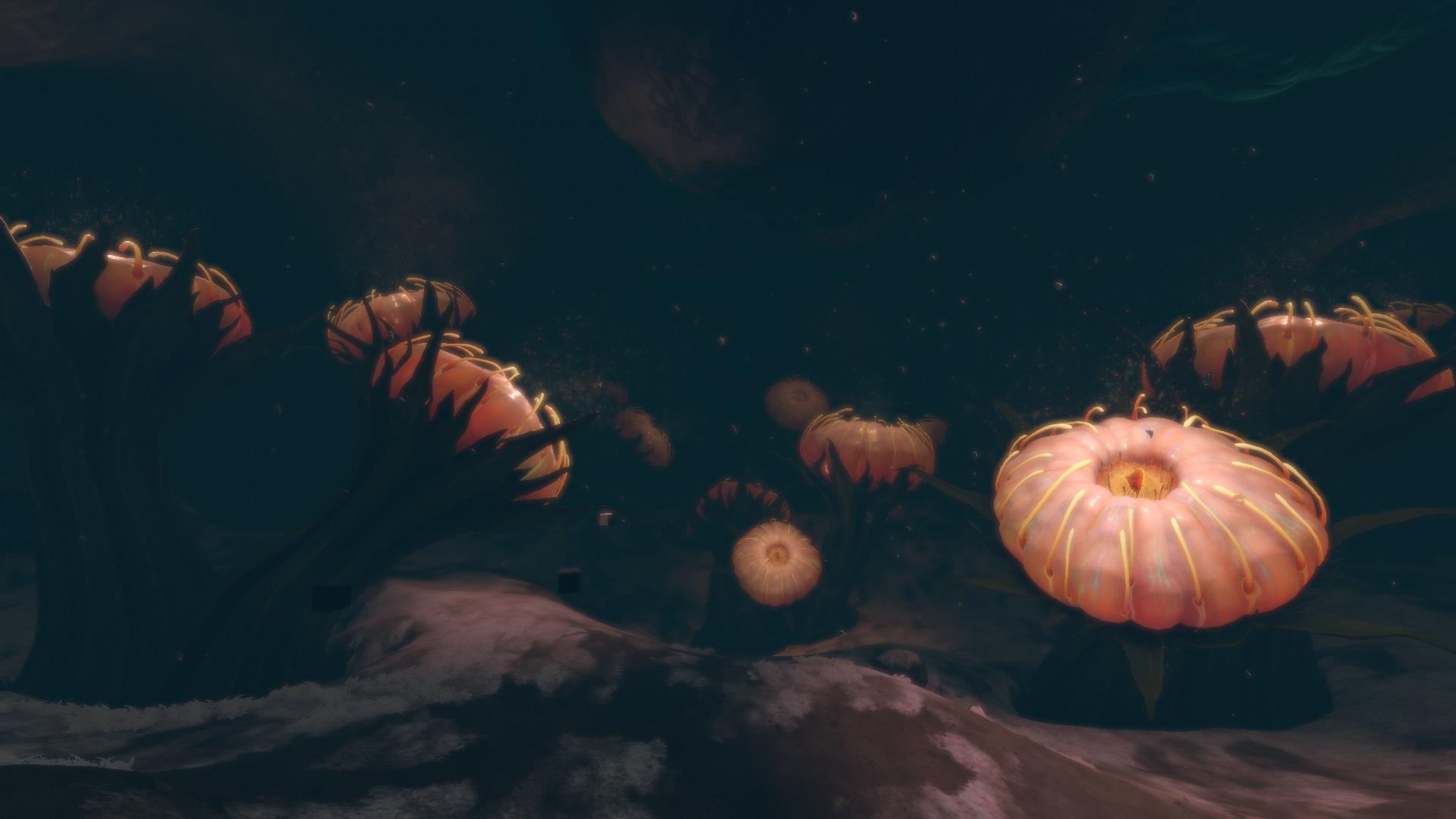 Глубокая пещера кувшинок