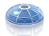 Multipurpose Room Glass Dome