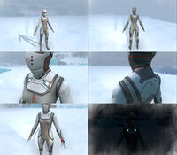 Female Cold Protective Suit in game