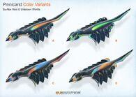 Pinnicarid Color Variants