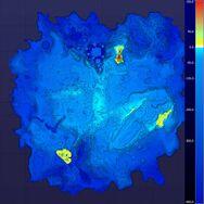 Subnautica Heat Elevation Map