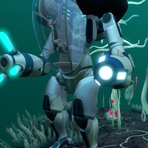 Prawn Suit Grappling Arm Subnautica Wiki Fandom Prawn suit is a blueprint in subnautica. prawn suit grappling arm subnautica