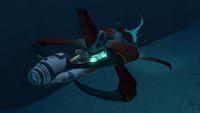 Reaper Seamoth Attack