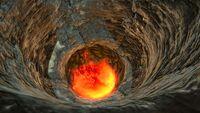 Lava Geyser Underwater Islands