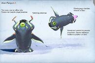 Alien penguin variant A