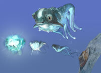 Cute Fish Concept Art