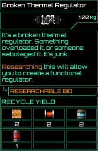 Broken Thermal Regulator