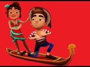 Unlocking the Lovely Venice bundle in Subway Surfers!