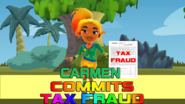 Carmen Commits Tax Fraud Wallpaper