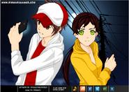 Anime Partners Jake and Miss Maia