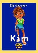 Subway Surfers Kart Wii Kim Trading Card