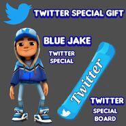 TwitterGiftBlueJakeAndTwitterBoardByGuhdrawsz
