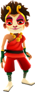 Sun Spot Outfit with Hair - Subway Surfers