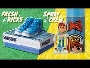 NEW! Sub Surf Spray Crew & Fresh Kicks - Alpha Group x SYBO x Toys R Us Canada