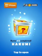 Award-Harumi