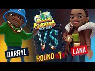 Subway Surfers Versus - Darryl VS Lana - New York - Round 1 - SYBO TV