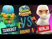Subway Surfers Versus - Tankbot VS Ninja - Peru - Round 1 - SYBO TV