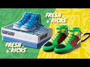 NEW! Subway Surfers Fresh Kicks - mini sneakers - Alpha Group x SYBO x Toys R Us Canada