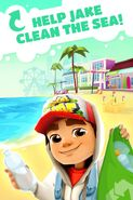 Subway Surfers Help Jake Clean The Sea