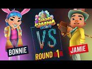 Subway Surfers Versus - Bonnie VS Jamie - Oxford - Round 1 - SYBO TV
