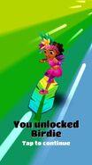 Unlocking birdie board