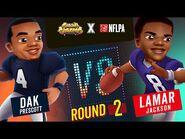 Subway Surfers Versus - Dak Prescott VS Lamar Jackson - Miami - Round 2 - SYBO TV