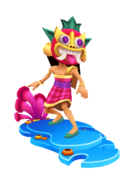 Mei Islander Outfit with Coral Board