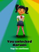 Unlocking Harumi