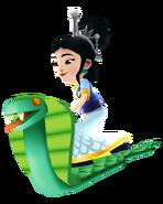 Ming White Snake using Cobra Board