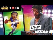 Lamar Jackson reacts to his character in Subway Surfers! - Subway Surfers x NFLPA
