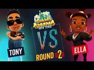 Subway Surfers Versus - Tony VS Ella - New York - Round 2 - SYBO TV