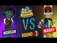 Subway Surfers Versus - Morgan VS Manny - Berlin - Round 3 - SYBO TV