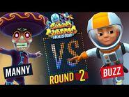 Subway Surfers Versus - Manny VS Buzz - Houston - Round 2 - SYBO TV