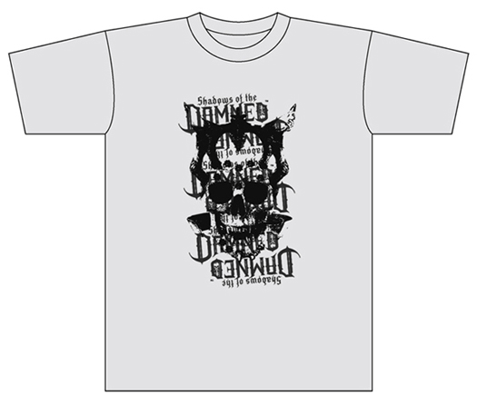 Shadows of the DAMNED T-Shirt Ash
