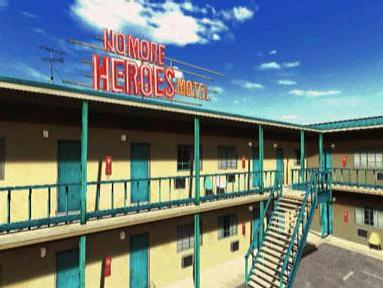 "Motel ""NO MORE HEROES"""