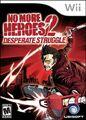 No more heroes 2 desperate struggly boxart