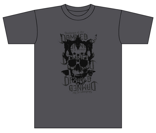 Shadows of the DAMNED T-Shirt Charcoal