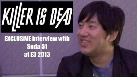 EXCLUSIVE Suda 51 Killer is Dead Interview at E3 2013