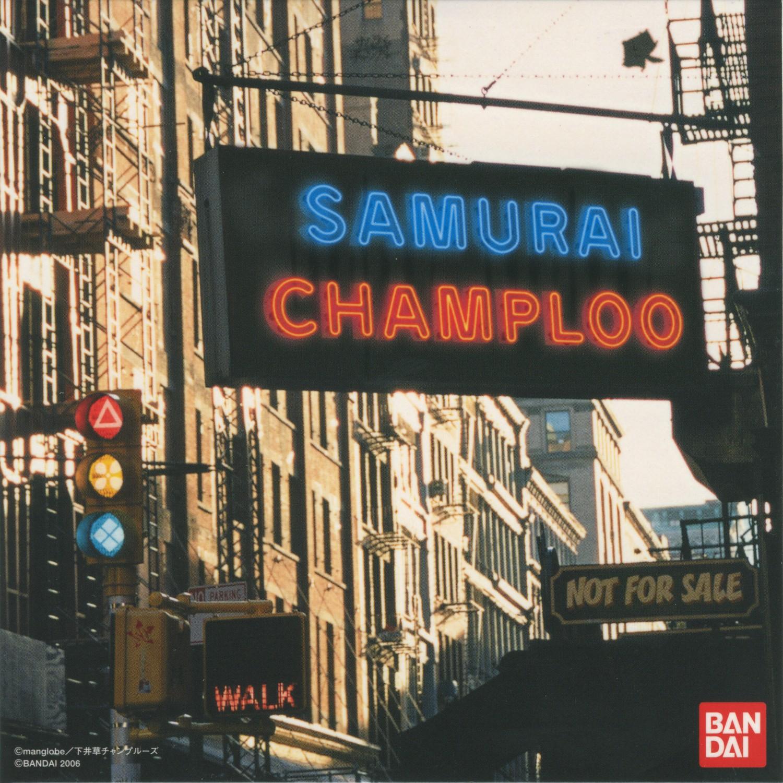 SAMURAI CHAMPLOO Rhythm Track CD