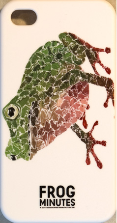 FROG MINUTES iPhone 4 Case