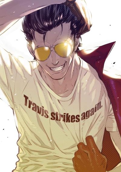 Staff of Travis Strikes Again: No More Heroes